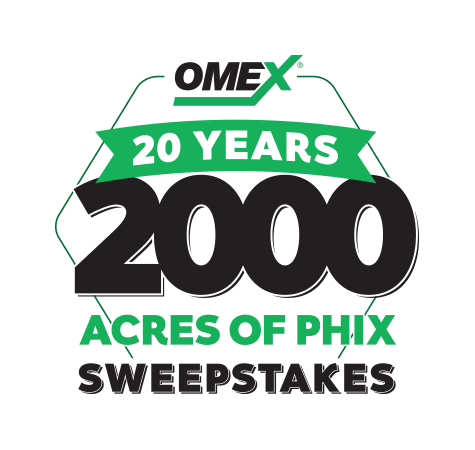 20 Years - 2000 Acres of pHix Sweepstakes!