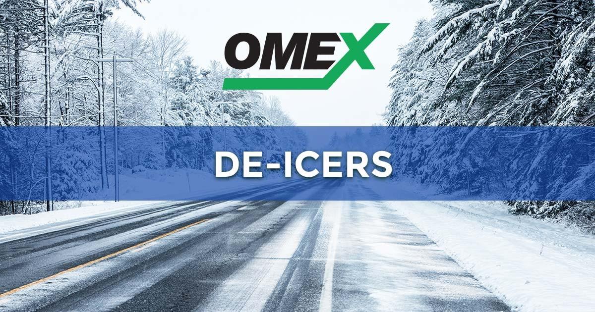 OMEX De-icers: Isoway RTU & Isomex